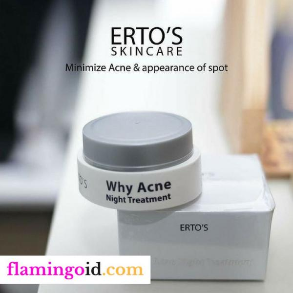 ERTOS Why Acne Night Treatment