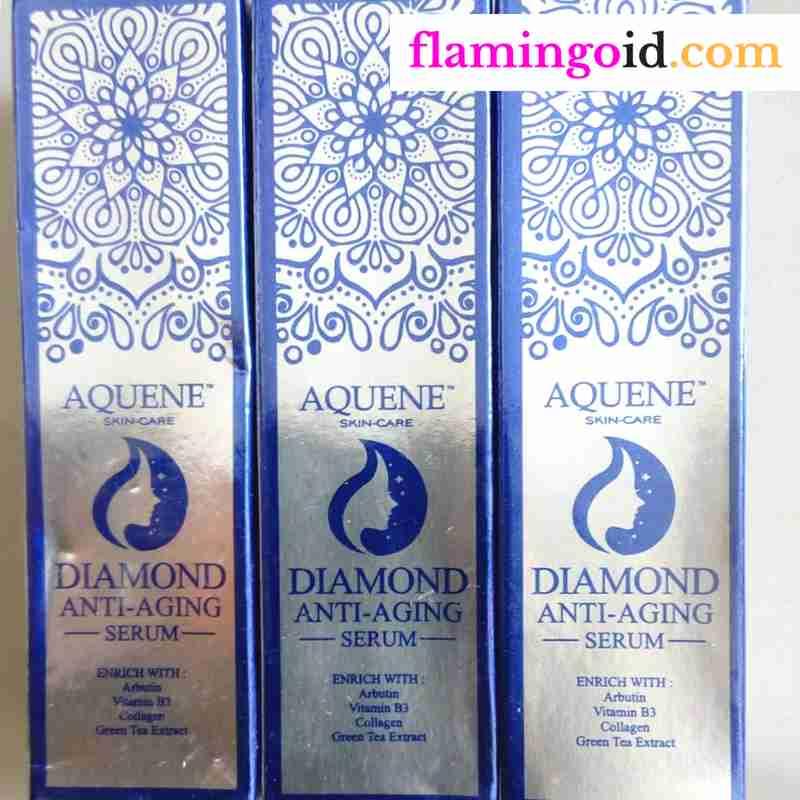 Aquene Diamond Serum Anti Aging Terbaik