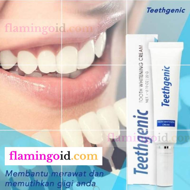 Teethgenic Tooth Cream Ertos Pemutih Gigi Ampuh