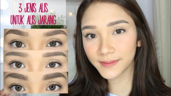 Tutorial Make Up Alis Minimalis Untuk Tampilan yang Cantik