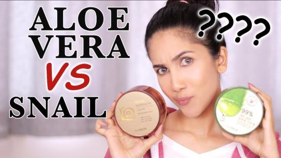 Manfaat dari Aloe Vera VS Snail Gel, Mana Lebih Bagus ?