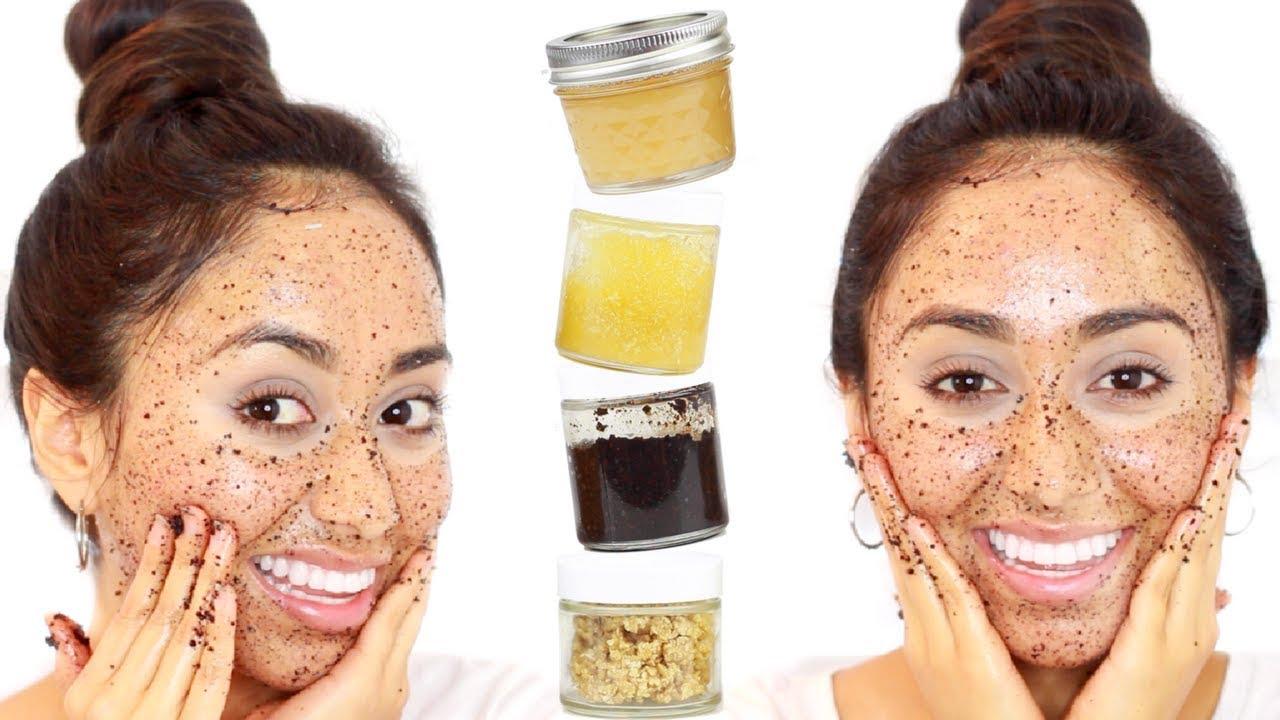 Cara Membuat Scrub Wajah