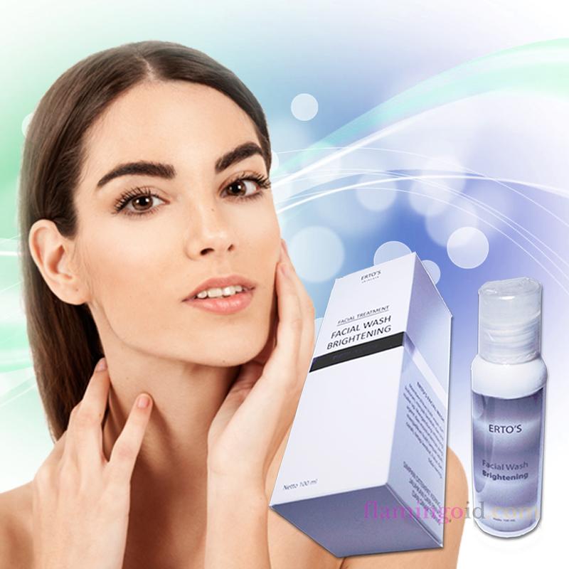 Ertos Whitening Facial Wash