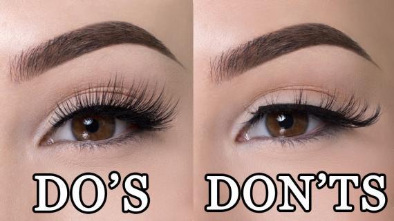 Hal yang Perlu Anda Lakukan & Hindari Saat Memasang Bulu Mata Palsu