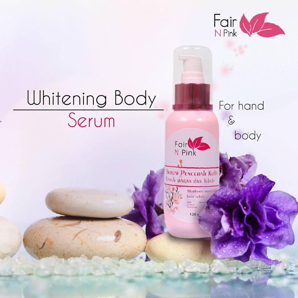 Fair N Pink Body White Serum Produk Kecantikan Kulit Dari Badan 160ml 120ml