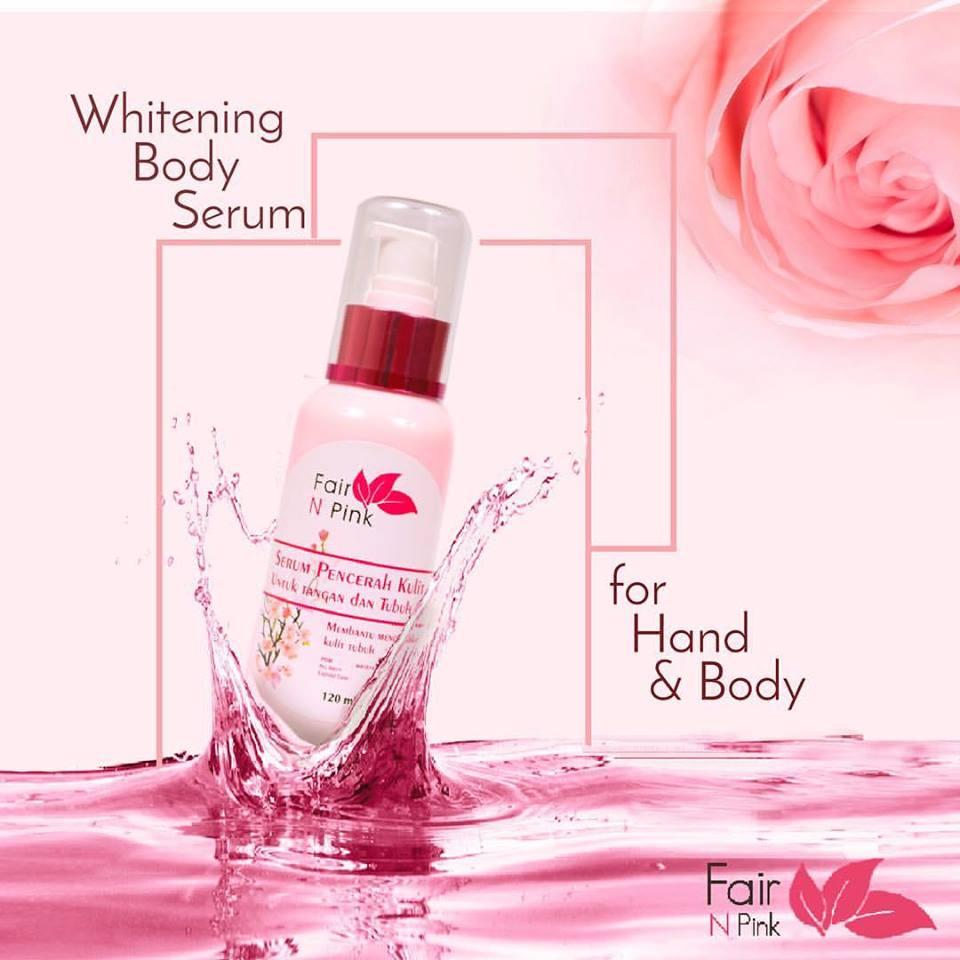 Fair N Pink Body White Serum Produk Kecantikan Kulit Dari Whitening 160ml Original Pemutih Badan Yang Anda Ketahui Setiap Kosmetik Pasti Punya Ke Khasannya Sendiri Dalam Penggunaannya Yuk Kita Keunggulan