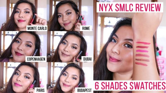 Review 6 Warna NYX Soft Matte Lip Cream