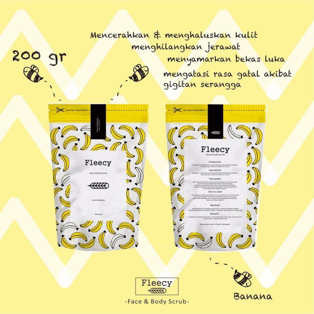 Fleecy Banana Scrub