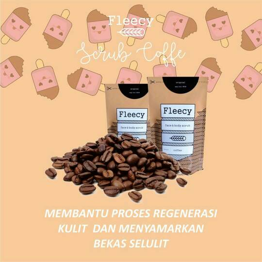 Fleecy Coffee Scrub
