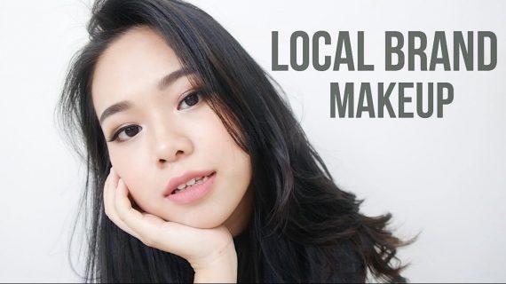 Tutorial Menggunakan Full Makeup Brand Lokal