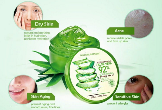 JUAL ALOE VERA NATURE REPUBLIC