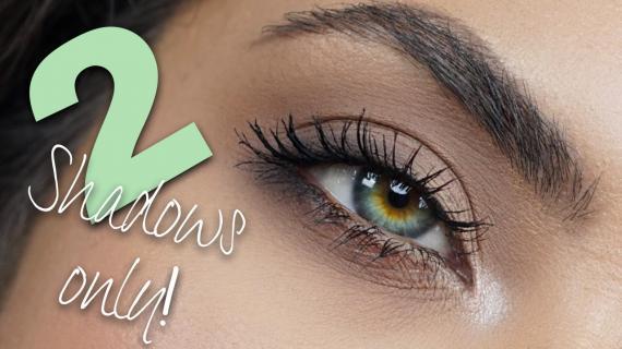 Tutorial Praktis dan Mudah Cara Memakai Eyeshadow 2 Warna