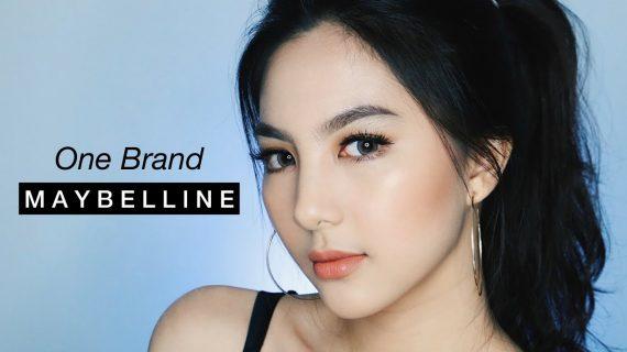 Maybelline Tutorial Make Up, One Brand Makeup Tutorial