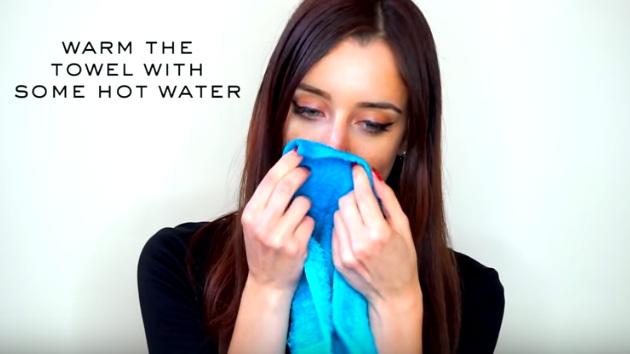 cara mengangkat komedo di hidung