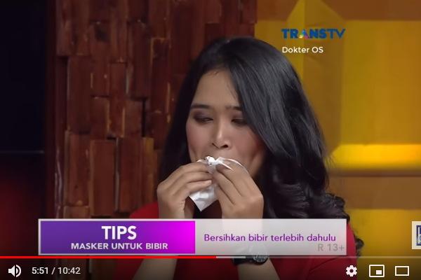 cara menyembuhkan bibir pecah pecah