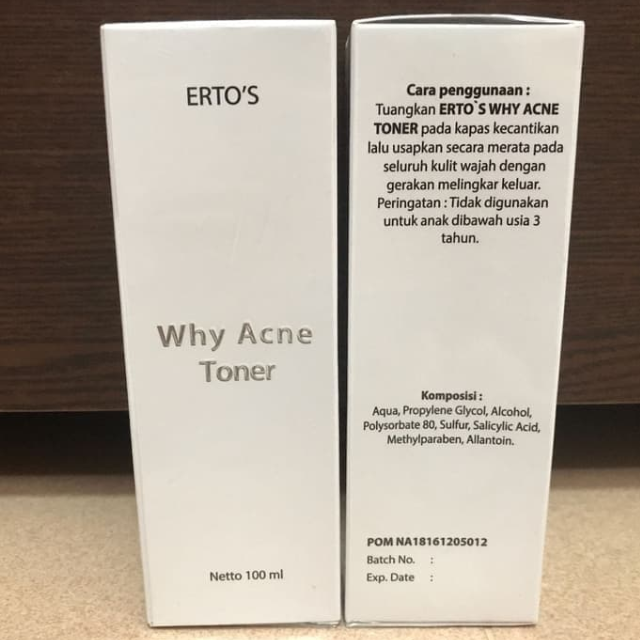 ertos why acne