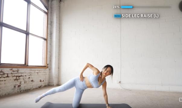 exercise untuk mengecilkan paha dalam 10 menit