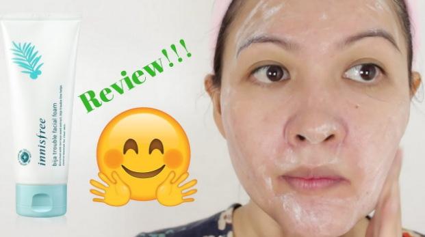 facial foam untuk kulit sensitif