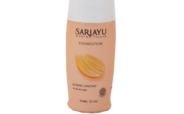 foundation sariayu untuk kulit berminyak