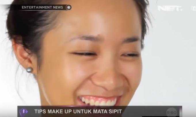 make up mata sipit tanpa lipatan