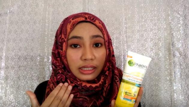 pencuci muka untuk kulit kusam