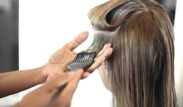 perawatan rambut rontok di salon