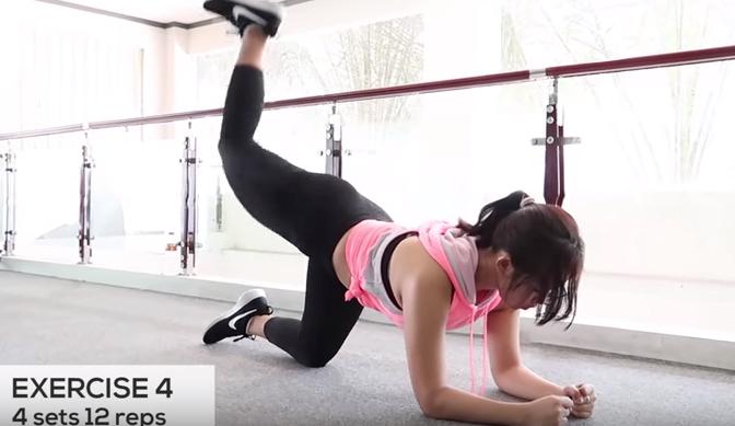 posisi yoga untuk mengecilkan paha dan betis