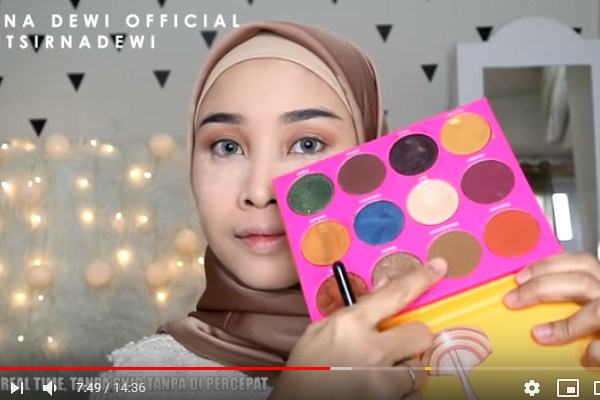 video cara make up sederhana